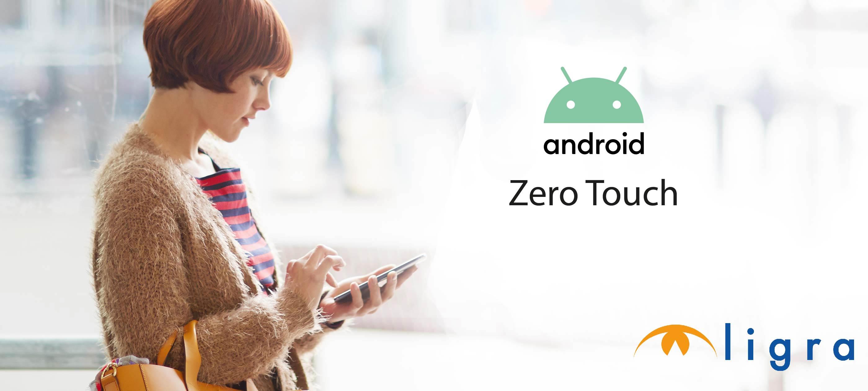Ligra DS è Rivenditore di Android Zero-Touch