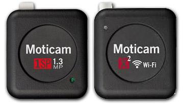 Moticam 1SP e Moticam X WiFi