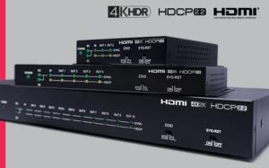 Da CYP nuovi amplificatori di distribuzione HDMI