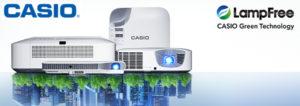 Ligra e Casio annunciano il nuovo accordo di distribuzione per la linea di videoproiettori LampFree Casio