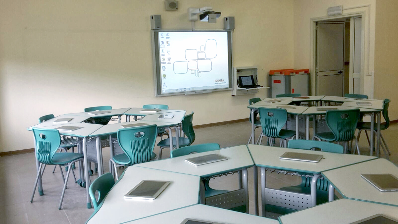 L'Aula 3.0 è realtà all'Istituto d'Istruzione Superiore via Gramsci