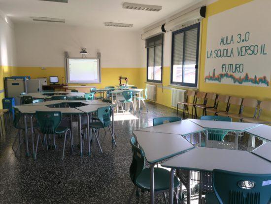 Classe 3.0 all'IC di Fontanellato (PR)