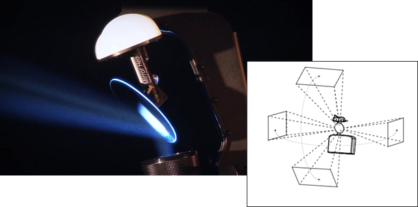 Video immersivi e spettacolari grazie a Mirror Head di Dynamic Projection Institute