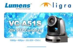 Lumens e Ligra presentano la nuova videocamera ptz VC-A51S