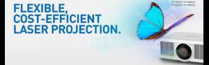 Disponibili i nuovi proiettori laser Panasonic MZ670