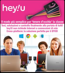 """Hey!U – Il modo più semplice per """"tenere d'occhio"""" la classe"""