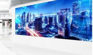 La tecnologia ShadowSense integrata nel nuovo videowall multi-touch customizzabile di Panasonic