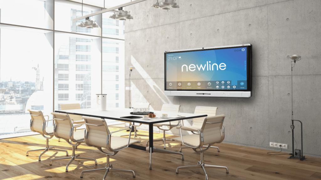 Monitor interattivi newline