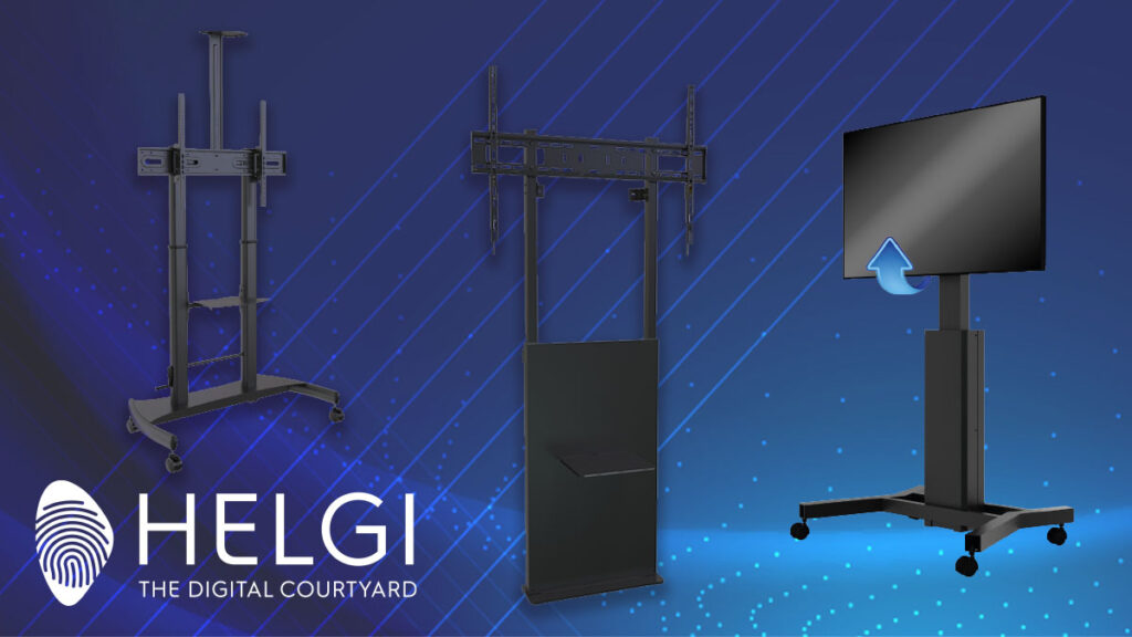 HELGI: Soluzioni di Montaggio per Monitor e Lavagne Interattive