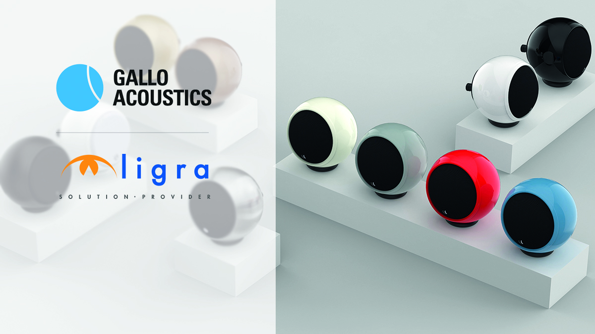 Ligra DS | Siglato l'accordo di distribuzione fra Ligra DS e Gallo Acoustics