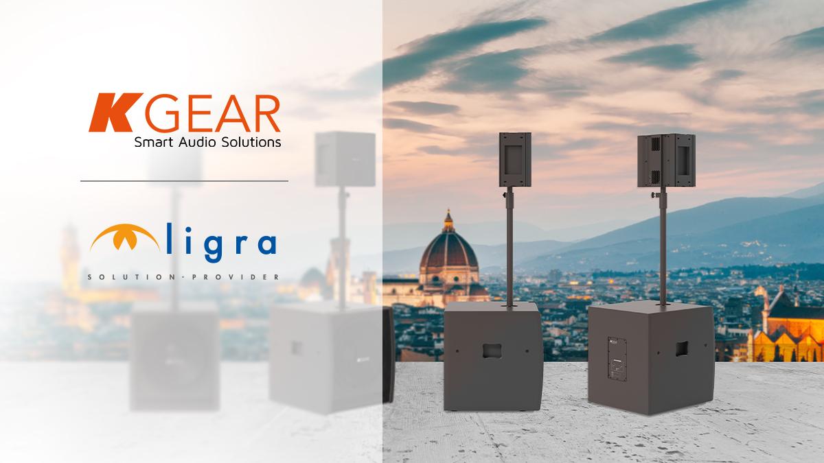 Ligra DS | Siglato l'accordo di distribuzione fra Ligra DS e KGEAR