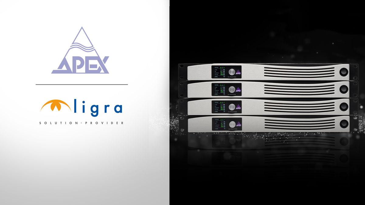 Ligra DS | Ligra DS è distributore esclusivo dei prodotti Apex