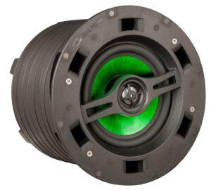 IC6-MB Altoparlante coassiale serie MB (Much Better) basato sulla tecnologia Sonic Vortex™ e dotato di woofer in polipropilene iniettato scanalato e il tweeter a cupola di alluminio